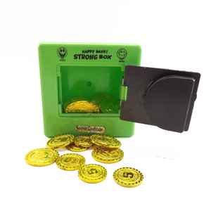 kids store money safe box mini plastic coin box plastic toy with cheap price