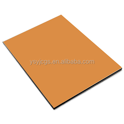 acp sheet brand Interior/exterior wall decorative ACP sheet Alucobond Aluminum Composite panels solid colour