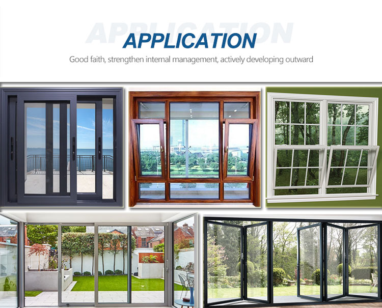 Price 6063 anodized aluminium sliding glass door and window frame material in namibia africa