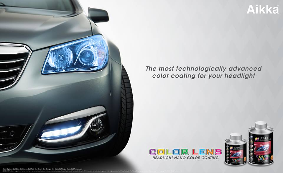 Aikka Headlamp Nano Colour Coating Buy Coating Product On Alibaba Com