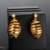 High polish Africa jewelry 18k gold plating dangling earrings