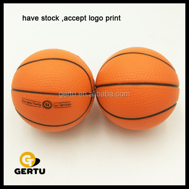 2017 basketball stress ball,pu foam antistress basketball