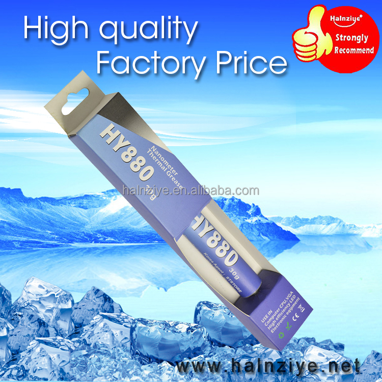 RoHs&CE certificate HY880-TU30 Thermal grease silicone compound for CPU cooler/LED heatsink