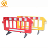 2 Meter Yellow and Red Plastic Traffic Road Safety Fence Barrier