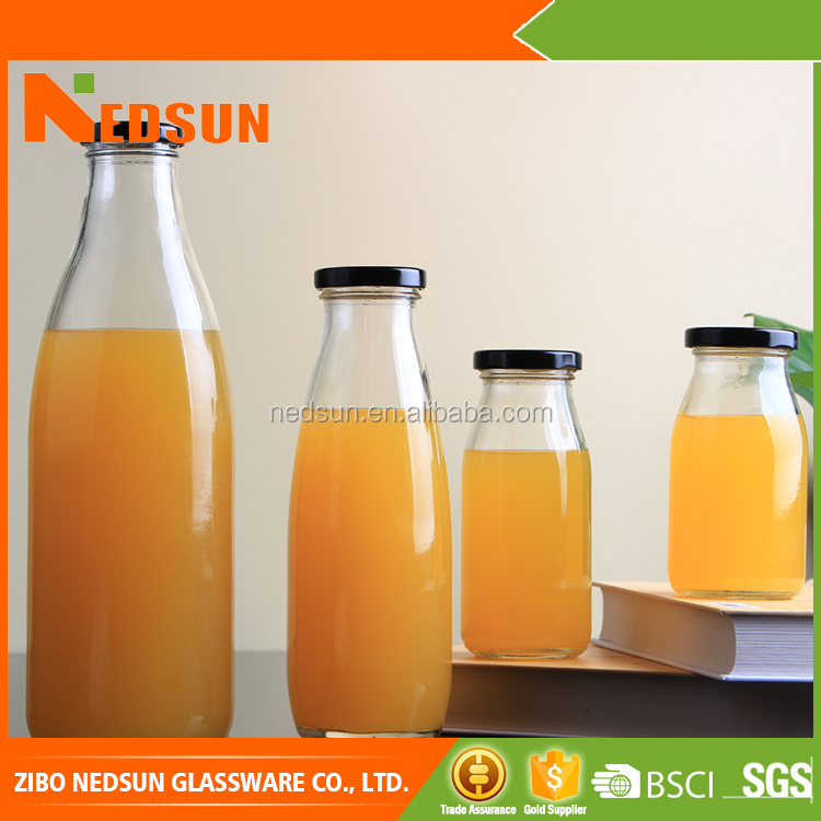 High Flint Hot stomping Wholesale glass bottles for beverages buy wholesale from china