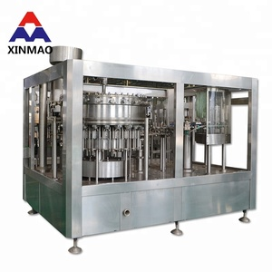 Supply Sparkling Water best sell automatic carbonated beverage filling machine used Corbonated Soft Drink ( CSD )