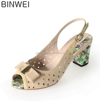 New Arrivels hollow out Ladies Fancy Woman Sandals