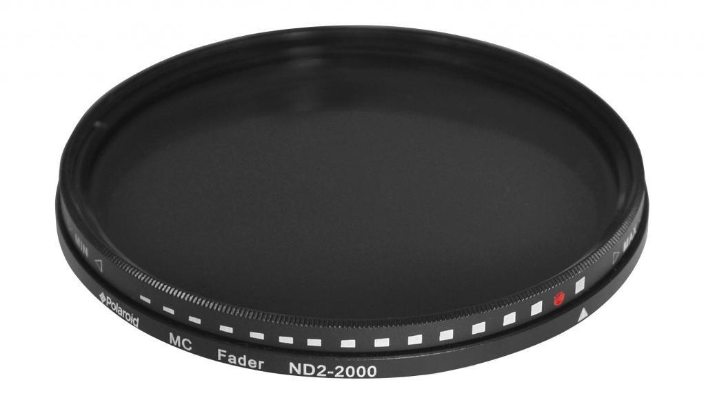 Polaroid Optics 55mm HD Multi-Coated Variable Range ND2-ND2000 Neutral Density (ND) Fader Filter