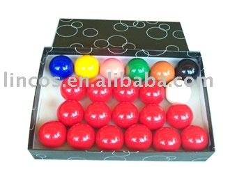 22pcs Per Box Snooker Ball