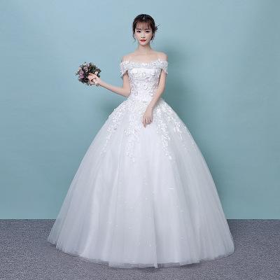 2afd624f3c Nueva y elegante princesa vestidos de novia 2014 Vestido de tul tren  capilla vestidos de novia