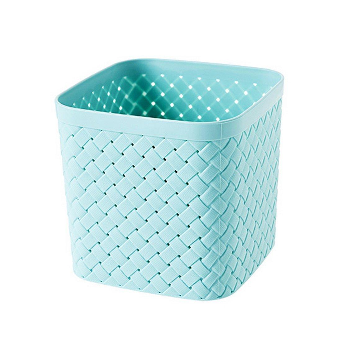 fengg2030shann Artificial weaving square storage baskets desktop storage hollow plastic debris basket baskets child storage box storage basket. Storage basket storage basket storage basket storage bas