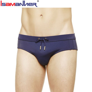 Customized beachwear european mens sexy triangle swimwear