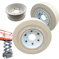quality aftermarket parts skyjack 108876 non marking scissor lift tires with non brake wheel assembly