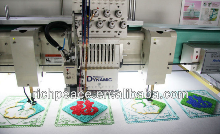 Computerized laser chenille chain stitch embroidery machine for sale