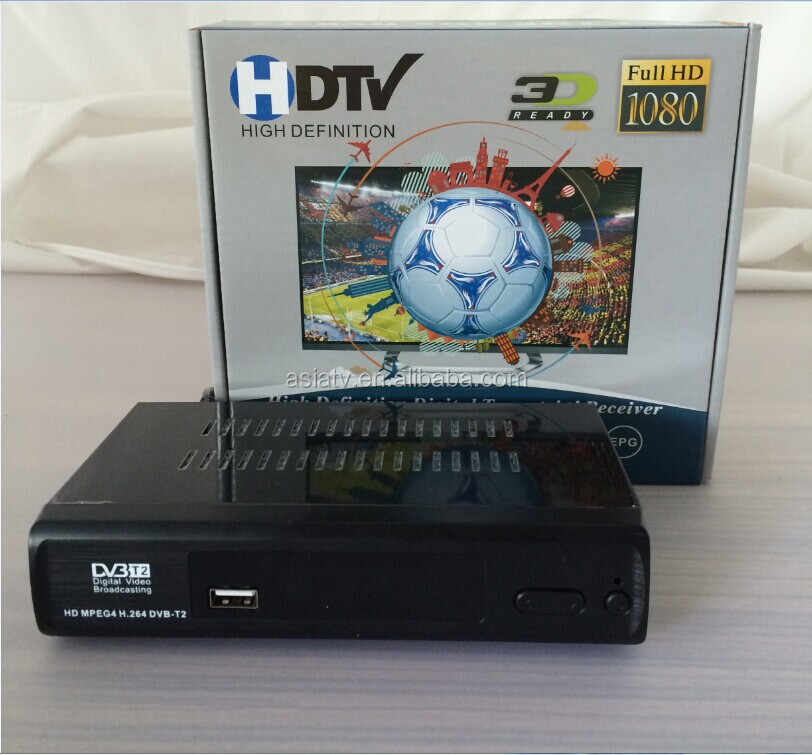 Digital <strong>TV</strong> Sintonizador DVB-T2 Colombia Digital <strong>TV</strong> Receiver , HD USB <strong>Tuner</strong> With Multimedia Player