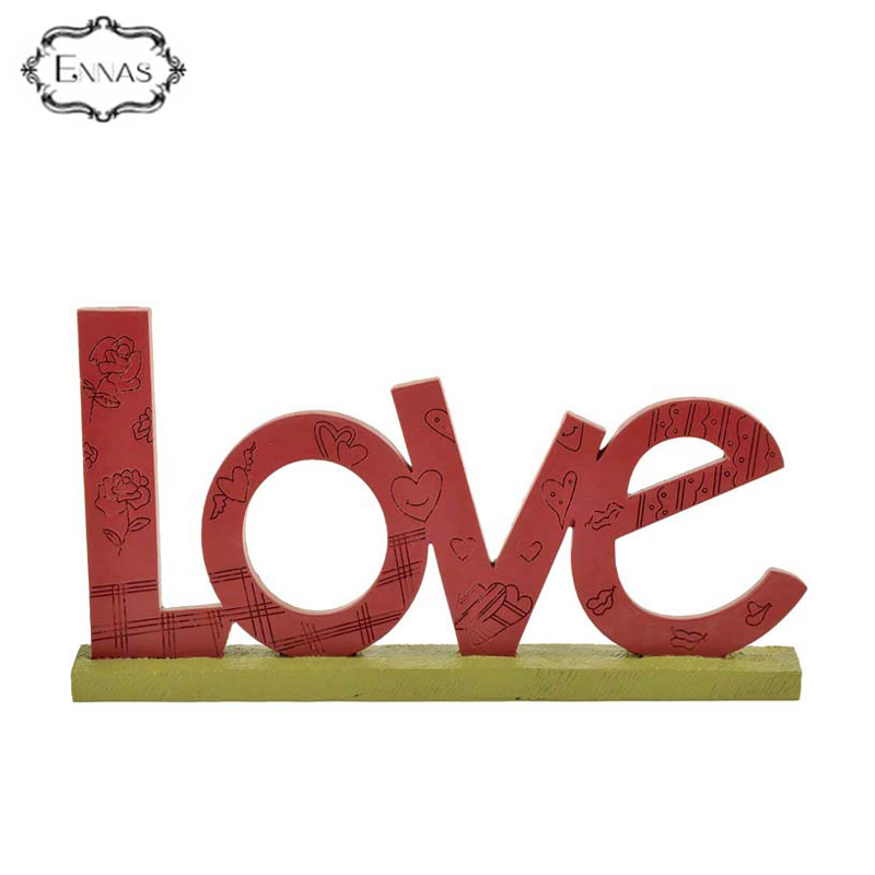 "2020 New Design ""love"" Letters Resin Plaques for Memory Home Decoration"