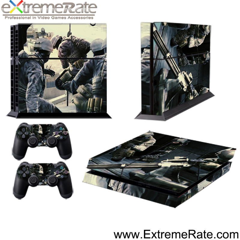2016 Hot sale sticker covers for Sony Playstation 4 for PS4 custom controller skin