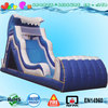 Inflatable tidal wave slide with bumper water slides prices for sale