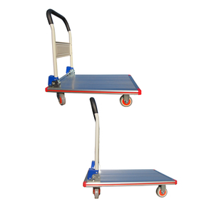 Rolling gardening tools construction platform hand trolley for heavy loading