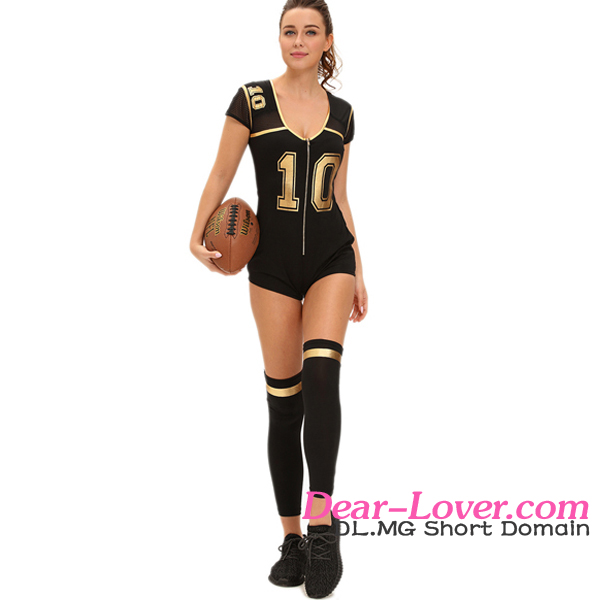Belle Club Football Sports Wear Fitness Women Sex Costume