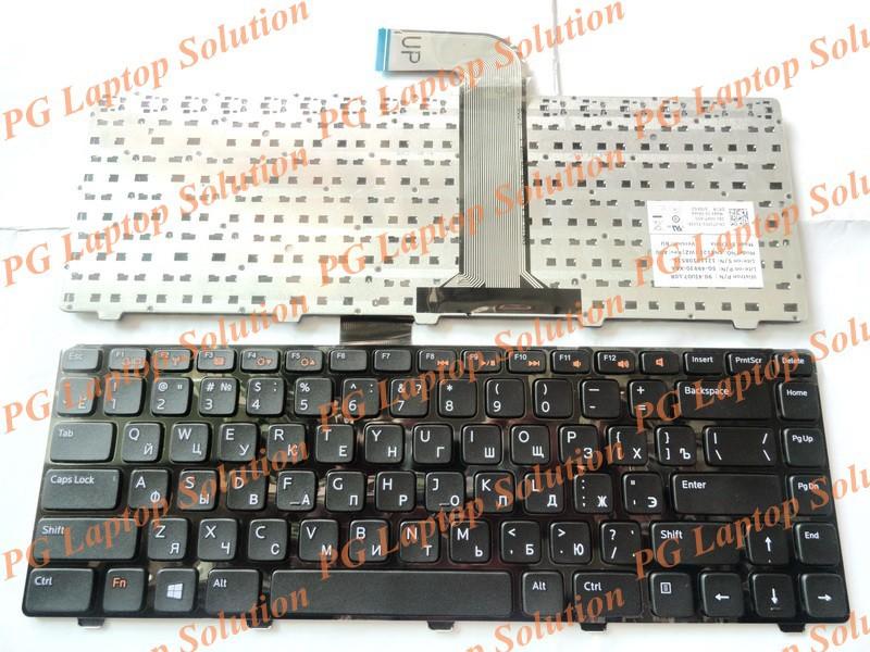 Русская клавиатура для DELL Inspiron 14R ( 3520 ) ( 5520 ) ( 7520 ) N4040 M421R 13Z ( N311z ) 14Z ( N411Z ) 14VR RU клавиатуры