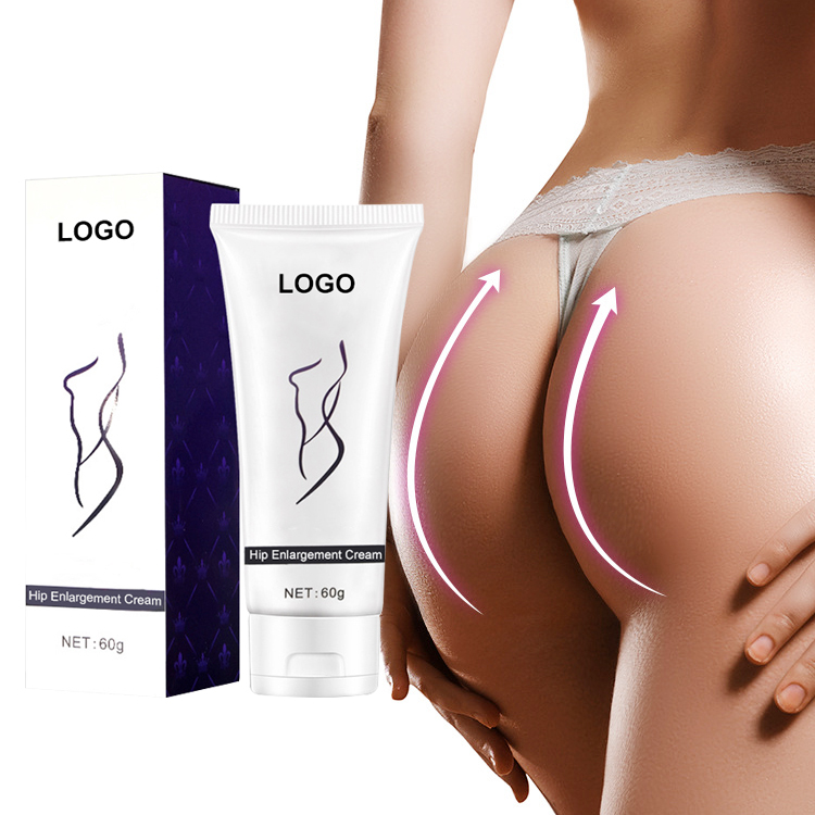 Private label hip sollevare crema da massaggio, hip up glutei crema per le donne