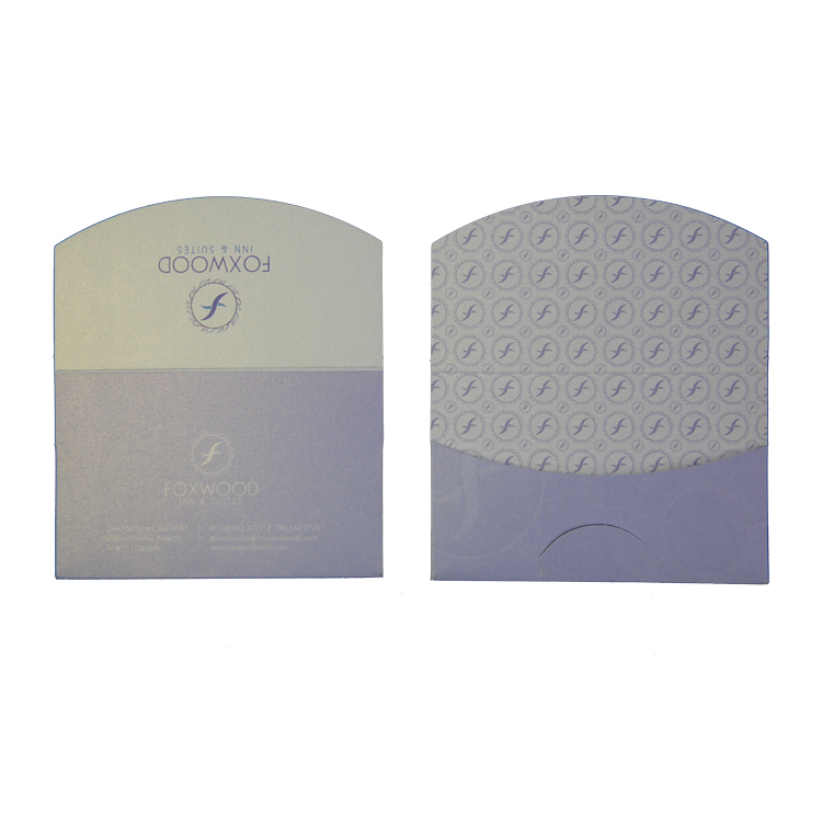 Zuoluo adhesive custom card holder for business use