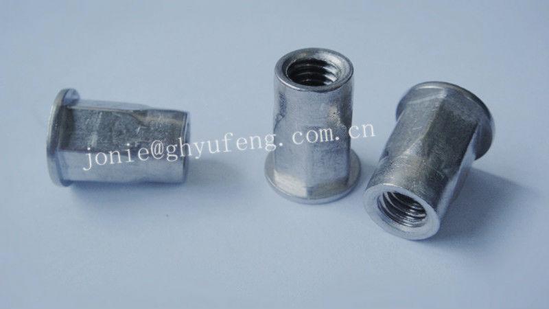 Cierres de aluminio hexagonal m6 tuerca de remache de for Precio de remaches de aluminio
