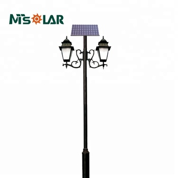 3m Garden Lighting Pole Light Outdoor Solar Led Sunflower