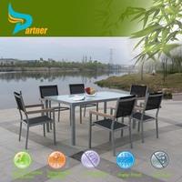 China Factory Price Home Design Modern Dining Set HA-Upscale Spanish Bar Fiberglass Outdoor Garden Furniture Tall