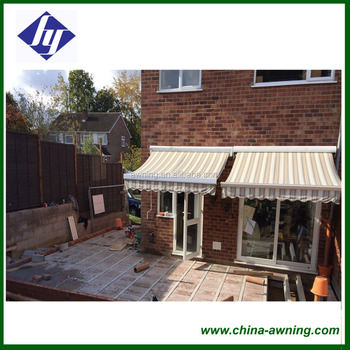 Sunshade Folding Horizontal Awnings Retractable Awning For Sale