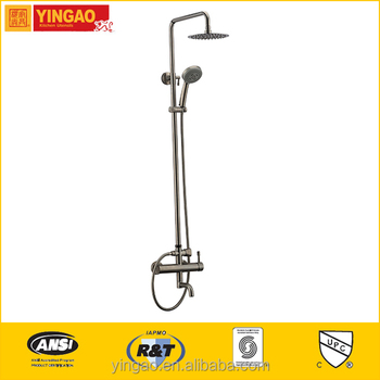 New Style Cheap Rainfall Wall Mounted Shower Faucets