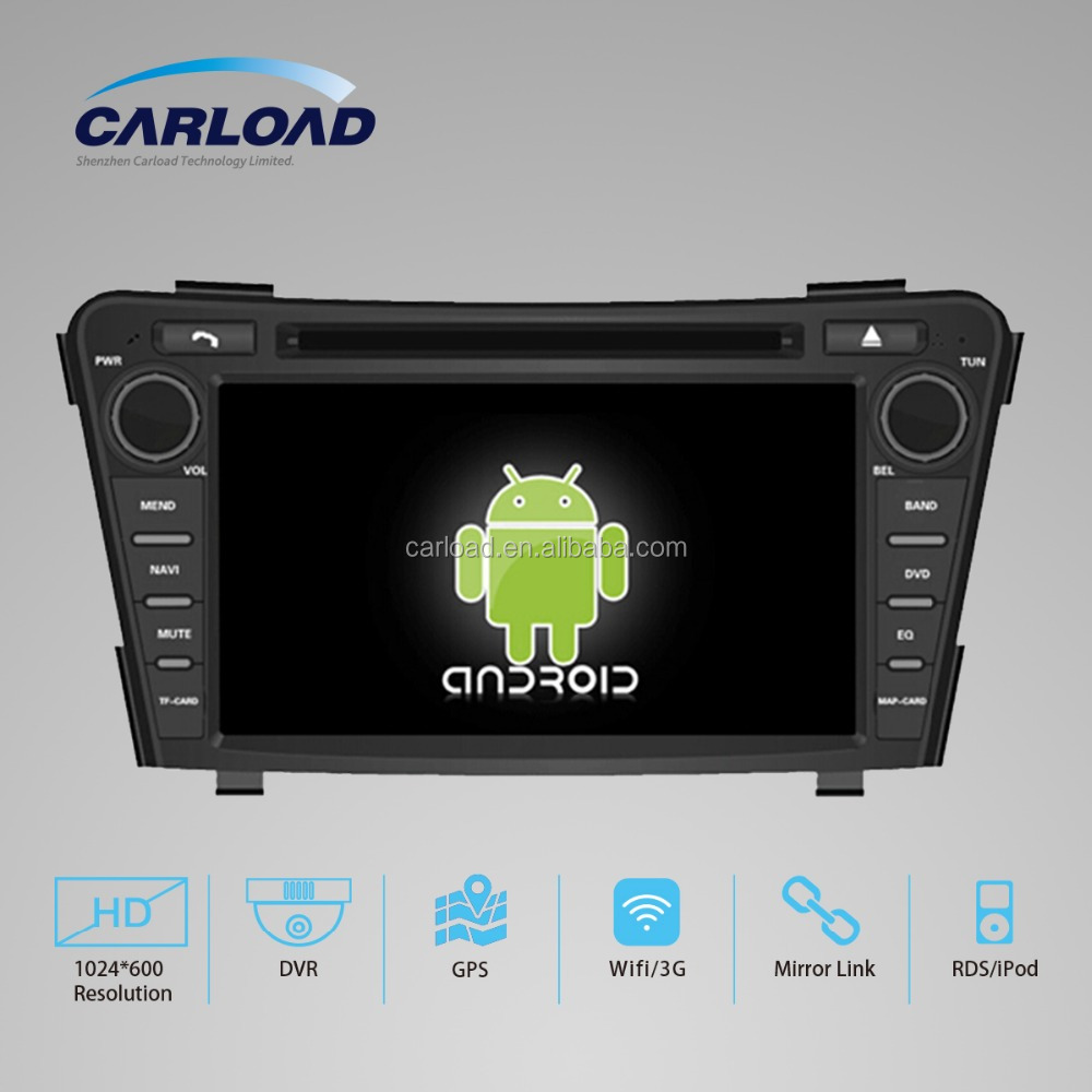 Android 5.1 2 din car dvd for 2012 Hyundai I40 with GPS, iPod, RDS, Wifi, 3G, mirror