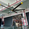 6 Pcs aluminum blade brushless dc big ceiling fans Philippines for Gym