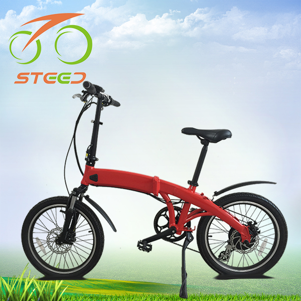 7 speed 20inch best reviews 2016 folding lightweight electric bike 8.7ah