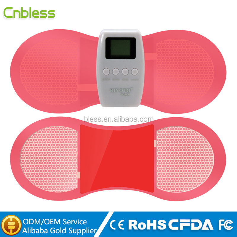 Physiotherapy electrodes 2 outputs tens massager hot sale
