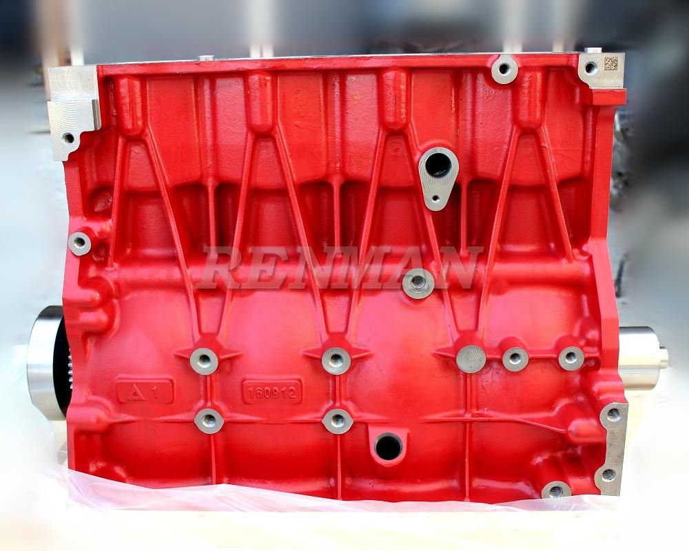 Foton Cummins engine ISF3 8 Short Cylinder Block,China Auto