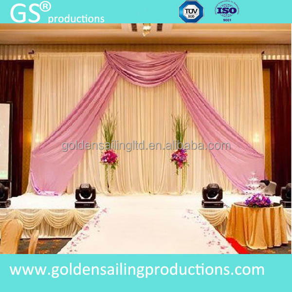 aluminum trade show backdrop stand wedding pipe and drape for sale buy wedding pipe and drape. Black Bedroom Furniture Sets. Home Design Ideas