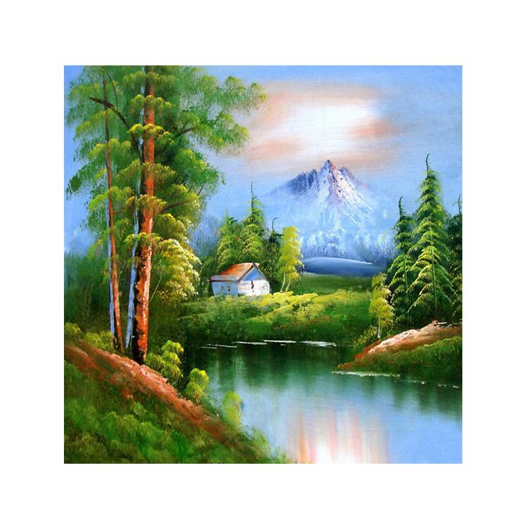 Disegni Di Paesaggi Verdi All Ingrosso Acquista Online I