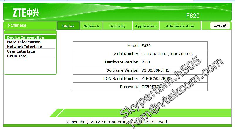 Original ZTE Brandnew GPON ONU English Firmware Manual LED mark SIP  ZXHN  F612 ZXHN F612, View ZXHN F612, ZTE Product Details from Shenzhen Phifo