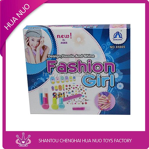 Kids Make-up Lip Gloss,Nail Art Kit,Nail Polish Making Kits - Buy ...