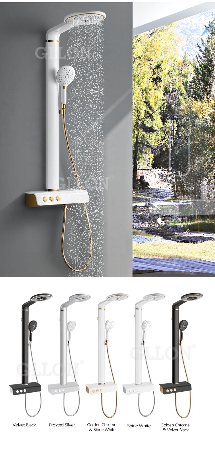 Perfect Design Multi Function Massage Raining Shower Column - Buy ...