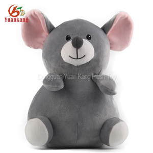 Christmas Mouse Stuffed Animal Plush Gray Mouse Christmas Mouse