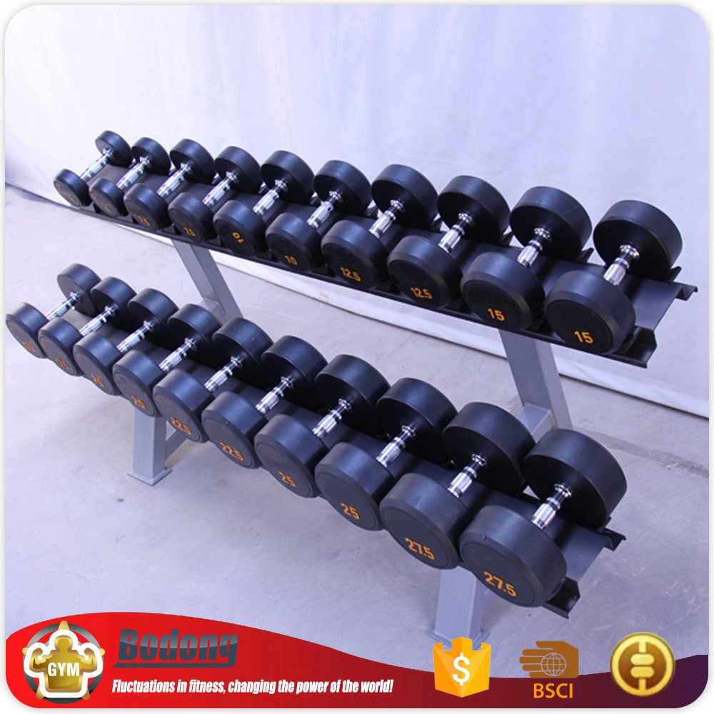Factory Directly supply dumbell rack equipment gym antique dumbbells set rack for export