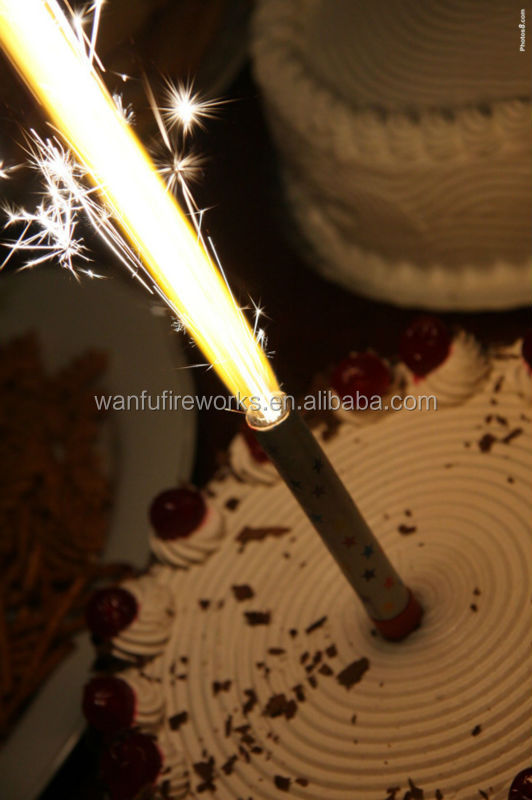 15cm Fancy Birthday Cake Candles Sparklers Ice Fountain
