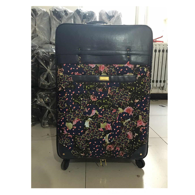wholesale china cheap price stylish luxury soft leather travel luggage