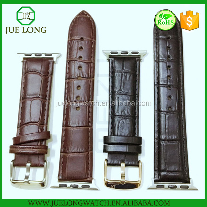 Factory Direct Replacement Watch Adapter Leather Smart Watch Band