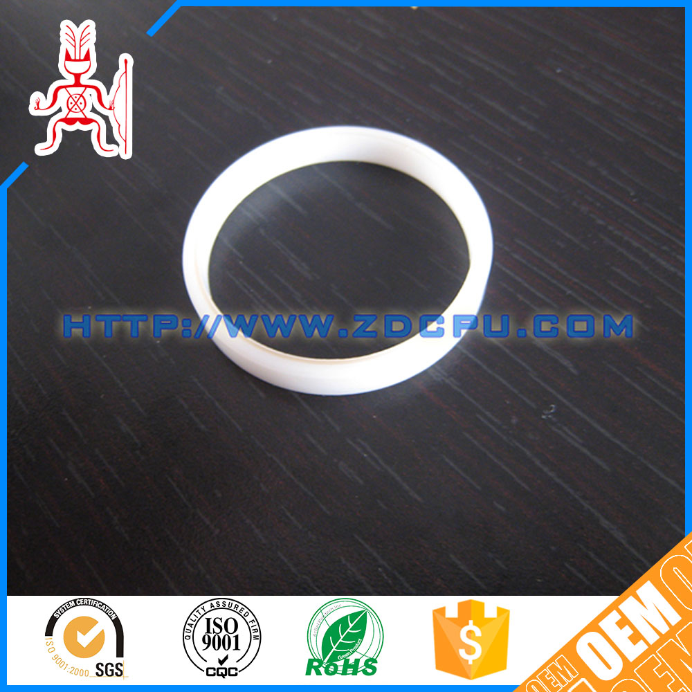 Customized hard wear resistant injection plastic ring