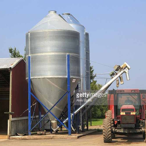 Small Field Corn Seed Grain Silo for Maize Storage