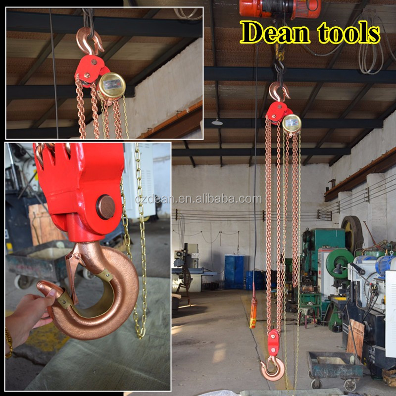 pocket lever chain pulley block ratchet Non -Spark chain hoist building construction tools and equipment